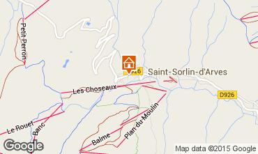 Mapa Saint Sorlin d'Arves Chalet 2686
