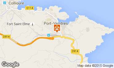 Mapa Port Vendres Apartamento 76032