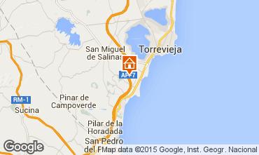 Mapa Torrevieja Apartamento 77554