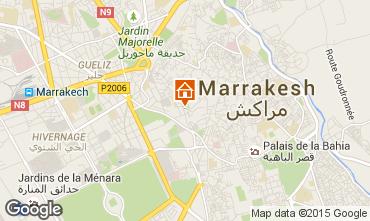 Mapa Marruecos habitaci�n de hu�spedes 78024