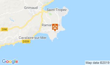 Mapa Saint Tropez Casa 119986
