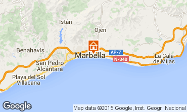 Mapa Marbella Apartamento 100769