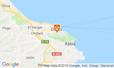 Mapa Denia Apartamento 68782