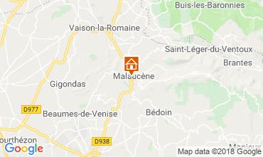 Mapa Malaucène Casa 116203
