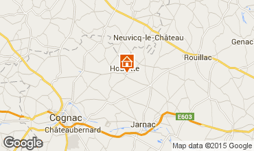 Mapa Cognac Casa rural 14481
