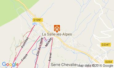 Mapa Serre Chevalier Chalet 50040
