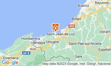 Mapa San Juan de Luz Apartamento 9306