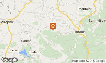 Mapa Limoux Casa rural 92854