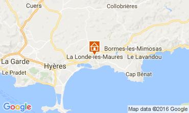 Mapa La Londe les Maures Villa 97056