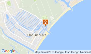 Mapa Ampuriabrava Apartamento 113462