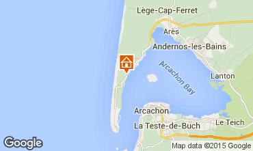 Mapa Cap Ferret Villa 29456