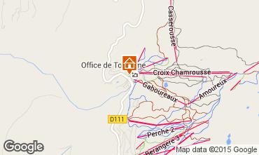 Mapa Chamrousse Apartamento 100483
