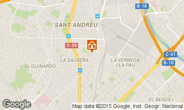 Mapa Barcelona Apartamento 60240