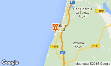 Mapa Asilah Apartamento 68882
