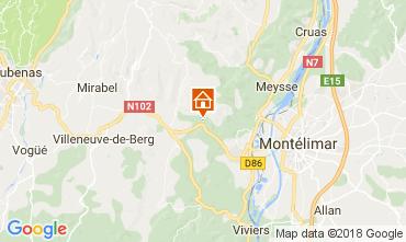 Mapa Vallon-Pont-D'Arc Villa 112399