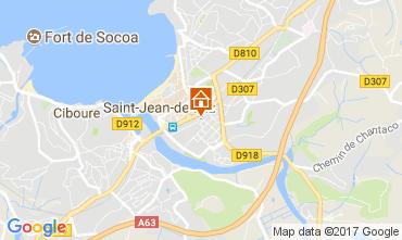 Mapa San Juan de Luz Apartamento 112759