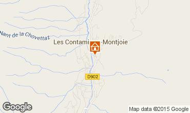 Mapa Les Contamines Montjoie Apartamento 58553