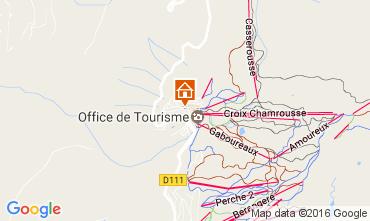Mapa Chamrousse Apartamento 107456