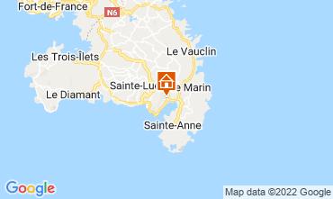 Mapa Le Marin Villa 73475