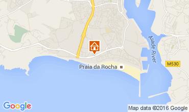 Mapa Praia da Rocha Apartamento 96529