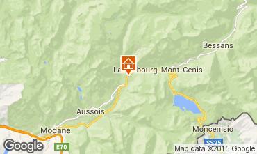 Mapa Termignon la Vanoise Apartamento 3324