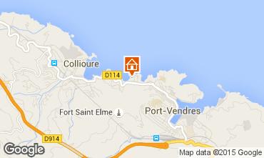 Mapa Collioure Apartamento 68403
