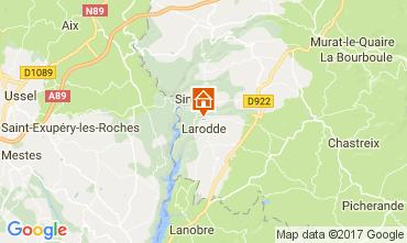 Mapa  Casa rural 13313
