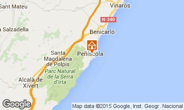 Mapa Peñíscola Apartamento 56228