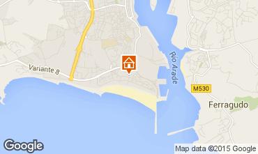 Mapa Praia da Rocha Apartamento 57982