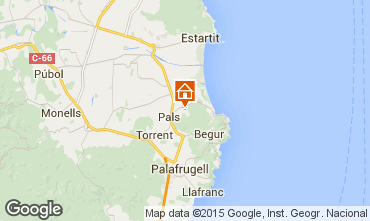 Mapa Pals Villa 84268