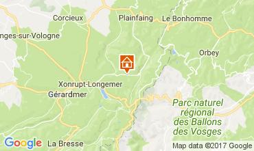 Mapa Gérardmer Chalet 111404