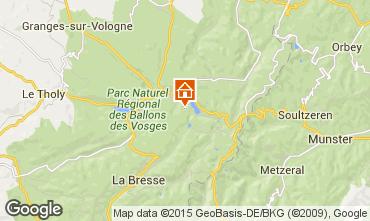 Mapa G�rardmer Casa rural 99393