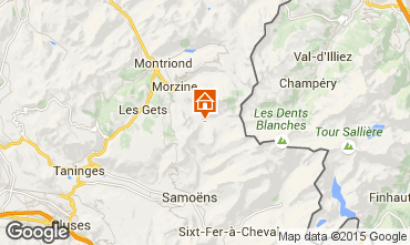 Mapa Morzine Chalet 97040