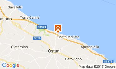 Mapa Ostuni Villa 110107