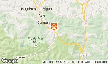 Mapa La Mongie Apartamento 4318