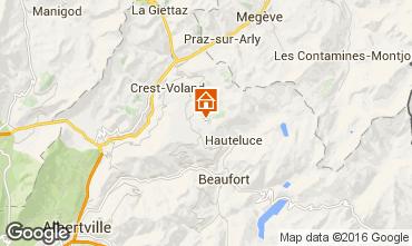 Mapa Les Saisies Apartamento 48734