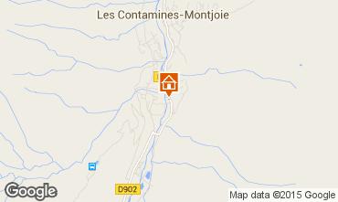 Mapa Les Contamines Montjoie Apartamento 919