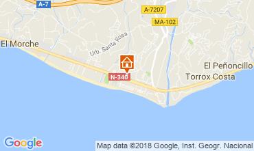 Mapa Torrox Apartamento 115893
