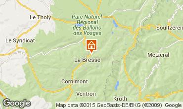 Mapa La Bresse Hohneck Casa rural 4549