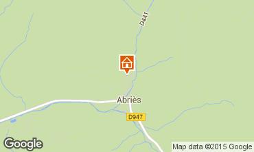 Mapa Abri�s Chalet 69713