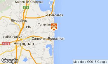 Mapa Sainte Marie la Mer Villa 78588