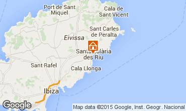 Mapa Santa Eulalia del R�o Apartamento 55587