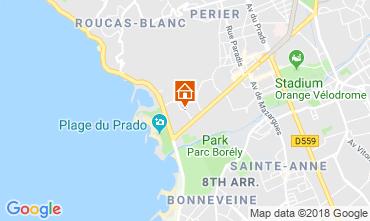 Mapa Marsella Apartamento 103851