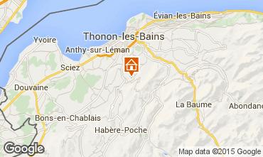 Mapa Thonon Les Bains Apartamento 78313