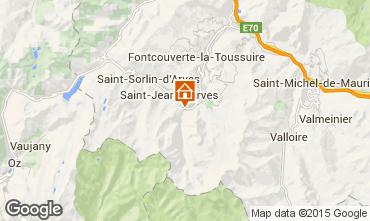 Mapa Saint Jean d'Arves Chalet 2501