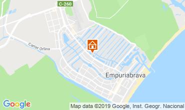 Mapa Ampuriabrava Casa 82803