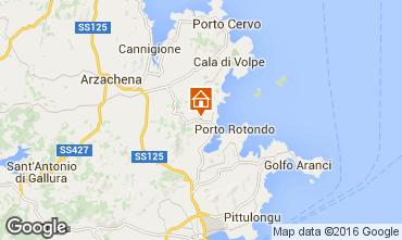 Mapa Porto Rotondo Villa 103093