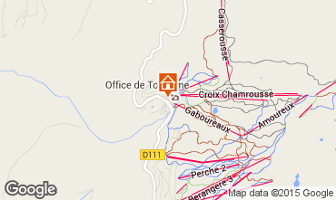 Mapa Chamrousse Apartamento 91742