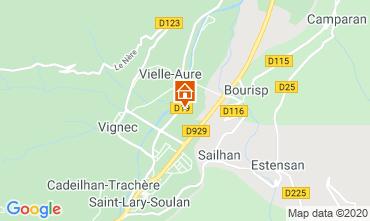 Mapa Saint Lary Soulan Apartamento 4397
