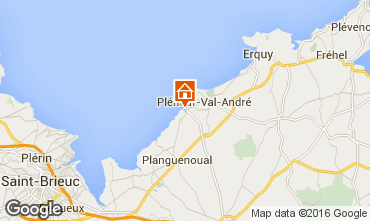 Mapa Pleneuf Val André Apartamento 77337